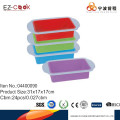 High standard colorful silicone loaf pan