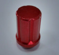aluminium red color electrophoresis wheel lug nuts