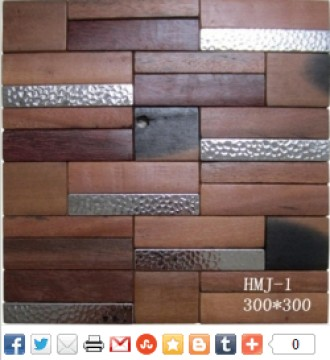 High Quality Kitchen Wood Mosaic Tile Of Fast Delivery
