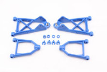 Blue nylon front suspension arm kit