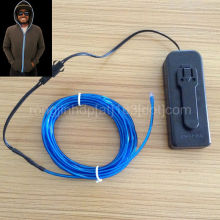 flash light coat evening decoration gift light cable for the hoodie Christmas gift