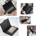 Lint 7'' Pda Leather Cases Durable / E - Book Cases For Travel
