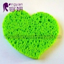 Heart Shape Cellulose Sponge