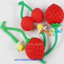Mini shaped fruit eraser exporter