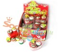 3D Lovely Christmas Cake Erasers Gift box Display box packaging