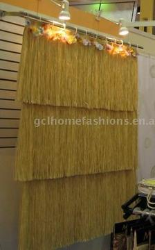 Palapa shower curtain