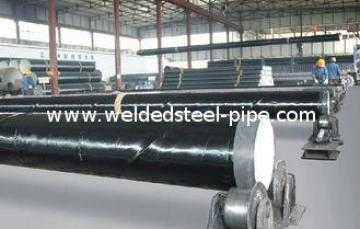 STK400 / 500 Welded Steel Pipe MidCarbonElectric Resistance