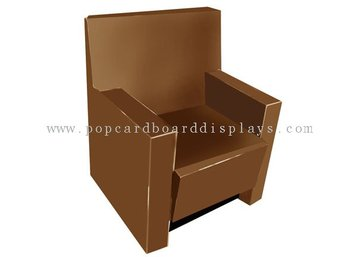 Varnish Corrugated Cardboard Furniture With Office  Chair Design Encf003