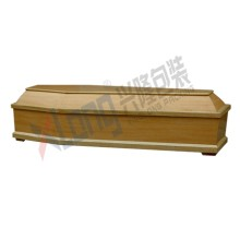 Satin Interior Oak Veneer Full Open Coffin