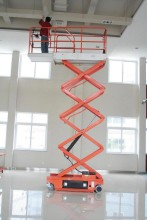 Electric Scissor Lift (II)(aerial work platform)