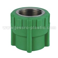 PPR Fittings -FEMALE COUPLING (COPPER THREAD)
