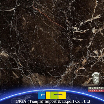Hot sale GIGA Polished Dark Emperad marble tile