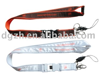 USB flash disk satin lanyard