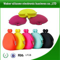 2014 Valentines Day gift silicon rubber change purse,silicone wholesale silicone coin ,purses for ladies,rubber jelly coin purse