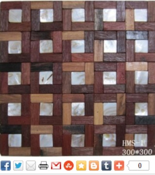 Natural Travertine Mosaic Tiles
