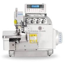 Máquina de costura Overlock computadorizado de acionamento direto com ajustador automático