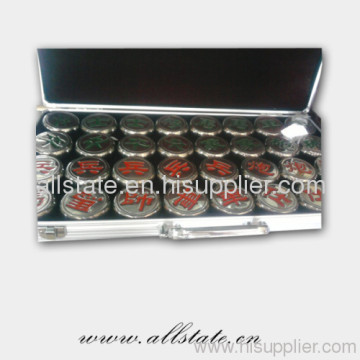 Titanium Chinese Chess For Business Gift