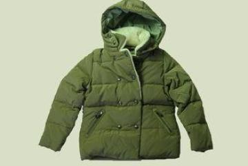 Outdoor Plain Soft Childrens Down Jackets For Girls , XS -