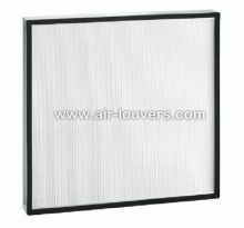 Ultra Low Resistance Mini-pleat HEPA Filter