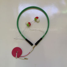 hot sell Hair band earphone fashion MP3 earphone strawberry cute earphone Christmas gift