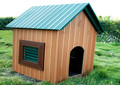 Outdoor Wpc Dog House Non-toxic Dog Kennel