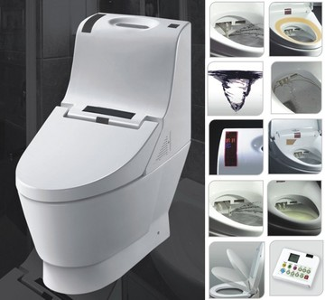 2014 hot sale electric automatic toilet seat - Automatic bidet toilet seat ...
