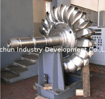 Pelton Impulse Turbine For Hydraulic Power Stations, Vertical Hydro Turbine With Nozzles