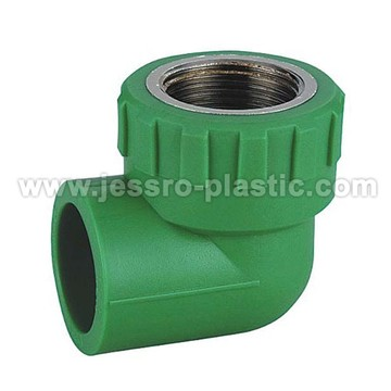 PPR Fittings-FEMALE ELBOW (COPPER THREAD)