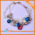 Multi Strands Fantasy Plastic Beads Bracelet