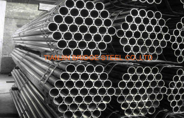 Double Submerged Arc Welded Steel Pipe Cold Rolled , Astm A500 Ss400 , Stk400