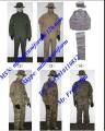 Military Camouflage Battle Dress Uniform BDU Pant BDU Shirt BDU Cap Military Fatigue Uniform Wool Uniform Training Suits Overall Uniform