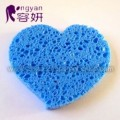Heart Shape Cellulose Washing Sponge