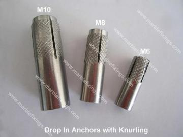 Drop In Anchor with Knurling