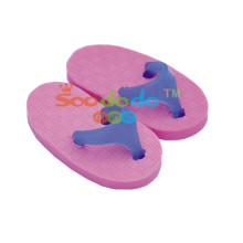 Purple Slippers Shaped Eraser