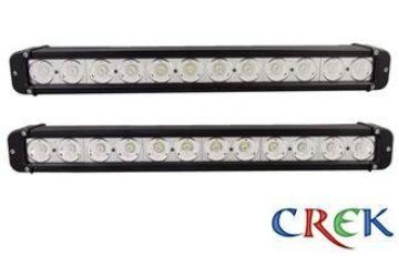 Slim 20 Inch 120W Mining / crane / Automotive LED Light Bar