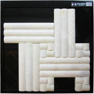 Random Interlocking Mosaic Marble Stone Tiles