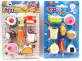 Novelty Food Erasers For Kids
