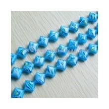 DF403 millefiori crystal glass beads