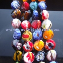 DF402 millefiori crystal glass beads