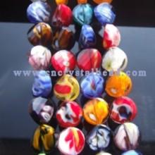 DF402 millefiori crystal glass beads