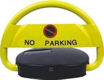 Remote Control 610 * 500 * 80m Parking Space Barrier With Alarm Function In-built Battery