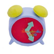 Red Alarm Clock  Shaped Eraser