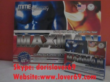 MAXMAN MME40% Original Naturally Sex Pills