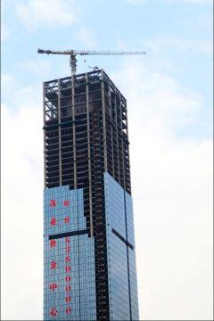 Efficiency Hammer-head Crane Steady Operation Steady Working Tower Crane