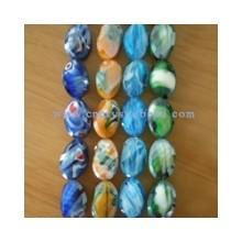 DF405 millefiori crystal glass beads