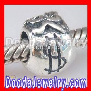 Sterling Silver European Purse Charms Beads For Sale