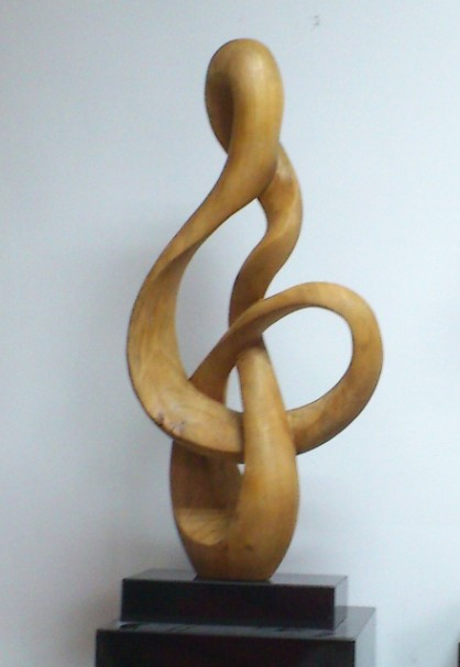 abstract modern wood sculpture,wood carving - Bossgoo.com
