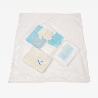 Navy Blue Non Woven Thin Film Delivery Kit For Medical Disposable Products Wl12031