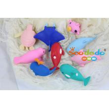 Kawaii 3D Erasers for school from China by SOODODO
