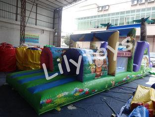 outdoor bouncer inflatable fun rentals obstacle courses For